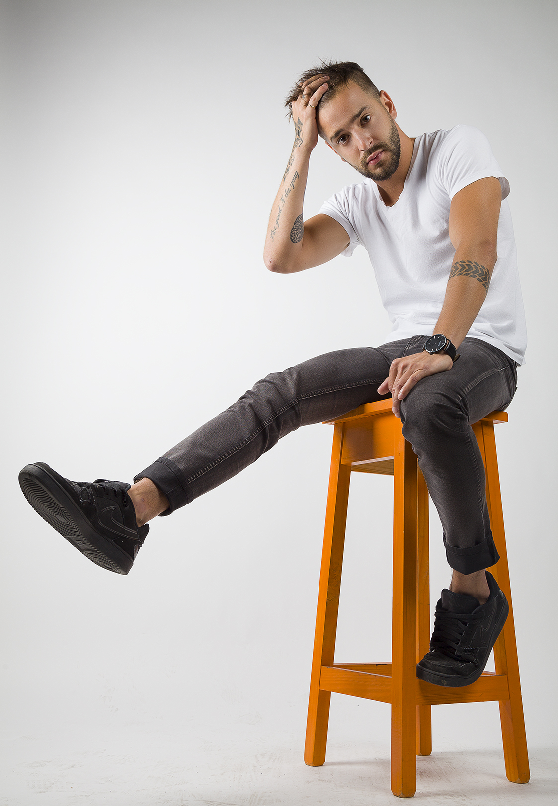 Fotografía en estudio Buffalo Jeans