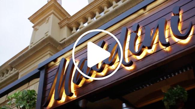 Video Maldini Bar Buenos Aires Design